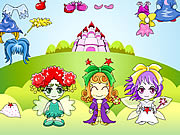 Three Fairy Dressup
